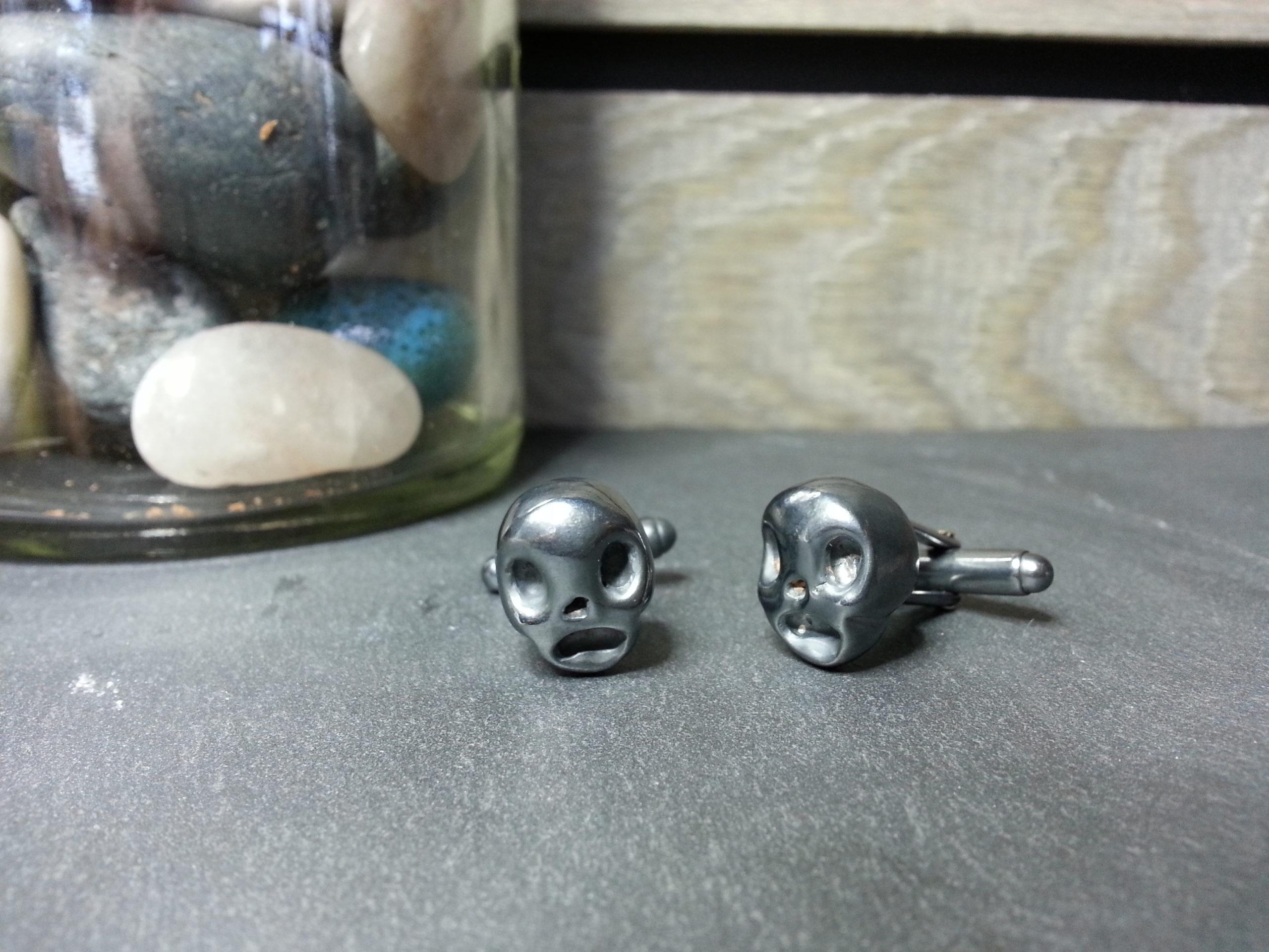 Skull Cufflinks Oxi